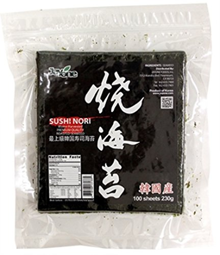 Jayone Seaweed Sushi Nori, 100 Count by Jayone (Image #1)