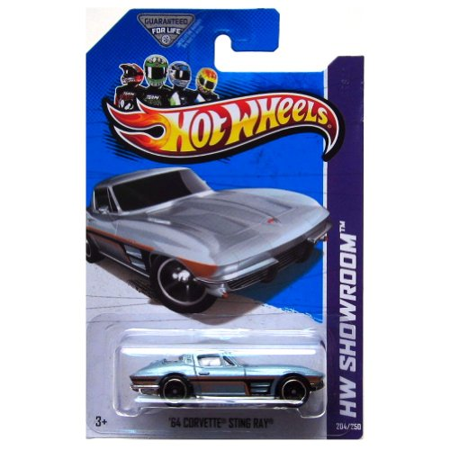 Hot Wheels HW Showroom 204/250 '64 Corvette Sting Ray