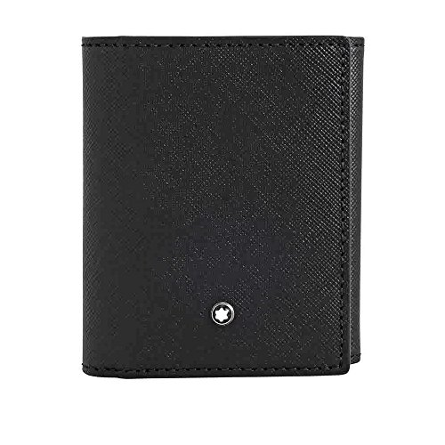 Montblanc Sartorial Trifold Business Card Holder - Black by MONTBLANC