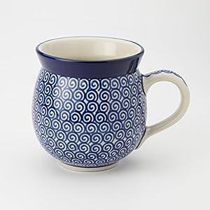 Polish Pottery Gents Mug – Doodle