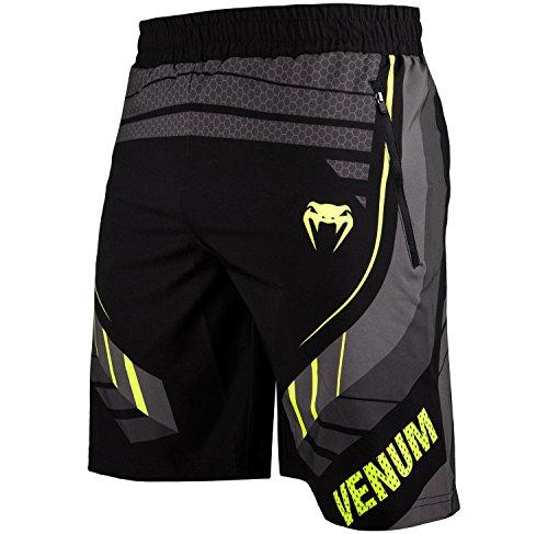 Fitness Shorts - M, Black/Yellow, Medium ()