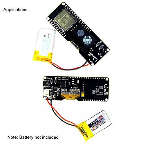 MakerHawk ESP32 OLED Development Board WiFi Bluetooth Dual Module with  Cable ESP WROOM 32 Wemos Lolin for Arduino