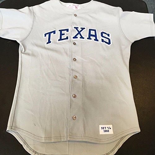 Rare Nolan Ryan Game Used Texas Rangers Final Season Goodman & Sons Jersey W/COA - MLB Game Used Jerseys (Nolan Ryan Jersey)