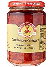 Hot Chili Peppers Crushed in jar