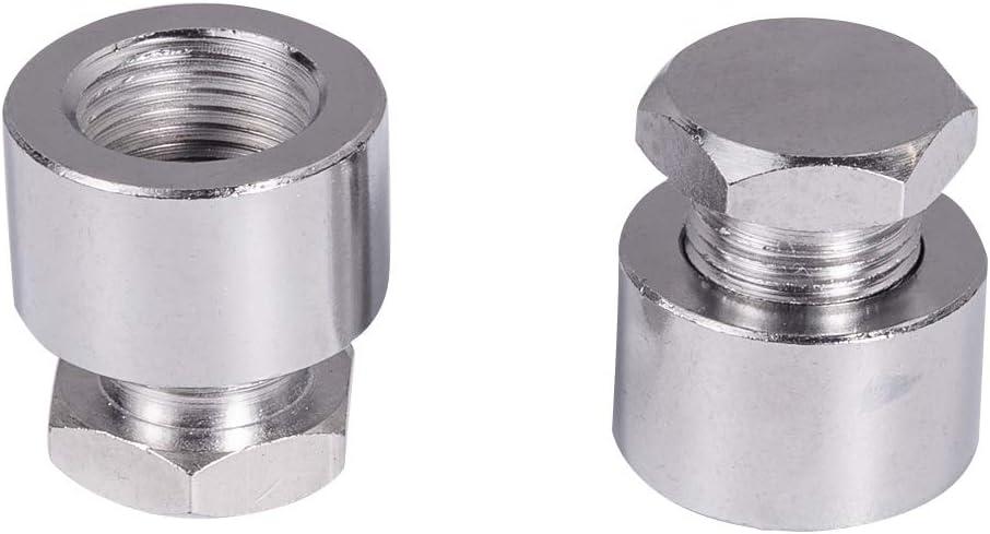 2pcs 18mm M18X1.5 Allen O2 Oxygen Sensor Plugs for Exhaust Pipe