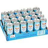 Dole« 100% Pineapple Juice - 24 Cans - 8.4 Oz. Each