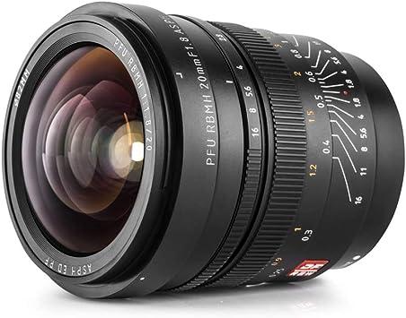 awstroe 11 mm F2.8 Lente Gran Angular de Gran Apertura Lente S/úper Gran Angular de Fotograma Completo Lente Ojo de pez de Enfoque Manual sin Antivibraci/ón Gran Angular de 180 /° Montura Nikon Z