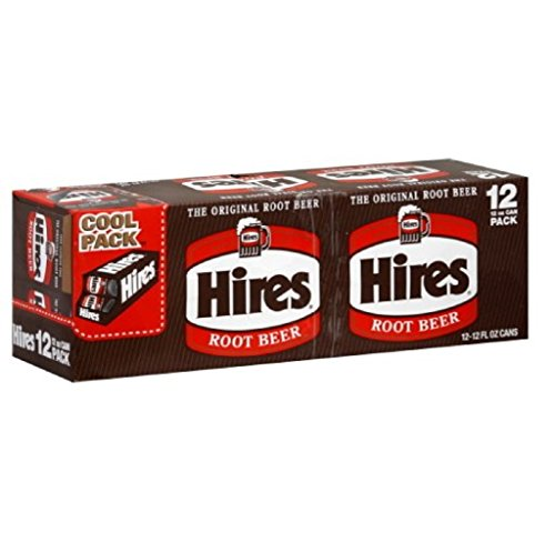 Hires Root Beer - 12 Pack Cans, 12 Fl. Oz. (Pack of 1) (Best Root Beer Ever)