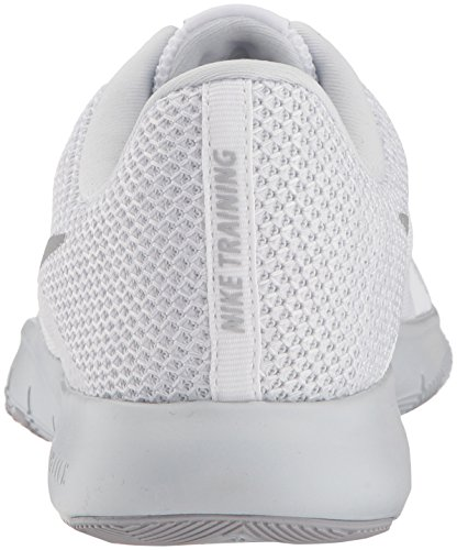 Trainer Silver Fitness Nike Platinum Pure 8 Metallic White Women's Flex Shoes W White qCwXtwv
