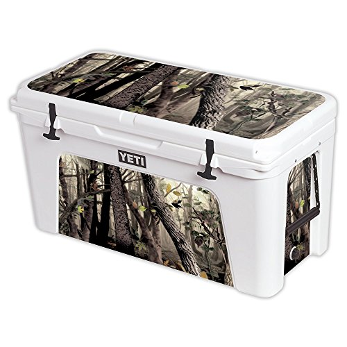 MightySkins Protective Vinyl Skin Decal for YETI Tundra 110 qt Cooler wrap cover sticker skins Tree Camo by MightySkins
