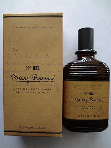 C.O. BIGELOW No. 032 BAY RUM COLOGNE FOR MEN 2.5 fl oz 75 ml