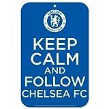 English Premiership Chelsea FC Plastic Signs, 11 x 17-Inch, Multi