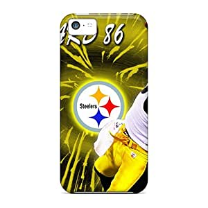 New Style Case Cover Zdr3330aYIH Pittsburgh Steelers Compatible With Iphone 5c Protection Case