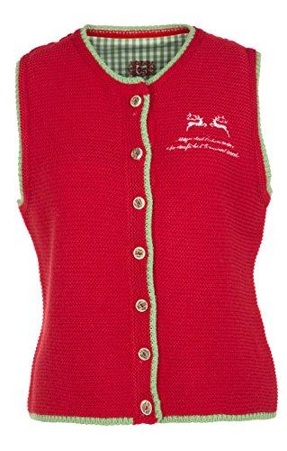 orbis Textil - Manteau sans manche - Femme Rouge Rouge