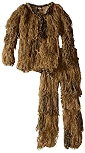 Red Rock Outdoor Gear Men's Youth Ghillie Suit, Desert Camouflage, 10-12