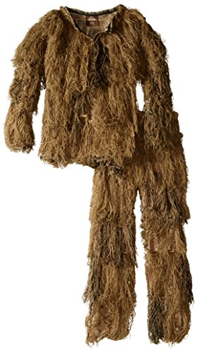 Red Rock Outdoor Gear Men's Youth Ghillie Suit, Desert Camouflage, ()