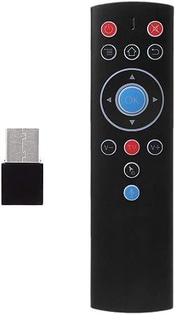 Youngy - Mando a Distancia para Xiaomi Smart TV Android Box IPTV con Bluetooth y Mini Teclado de Silicona: Amazon.es: Hogar