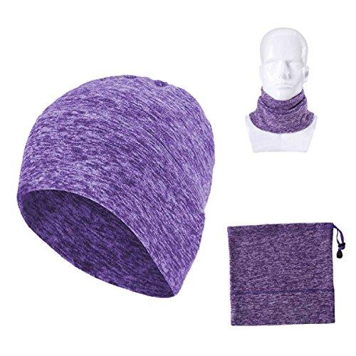 Magic Headwear de Púrpura invierno bufanda aire de hacer más trapo – al multifuncional cuello cálido gorro máscara Triwonder libre 0fzq1fw