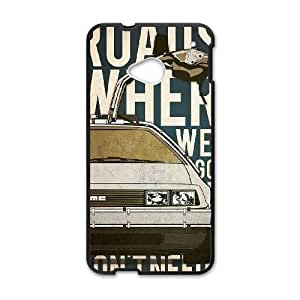 Back To The Future HTC One M7 Cell Phone Case Black yyfabc-491413