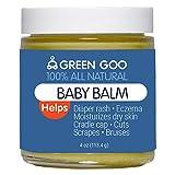 Green Goo All-Natural Skin Care, Baby Balm, 4 Ounce, Jar
