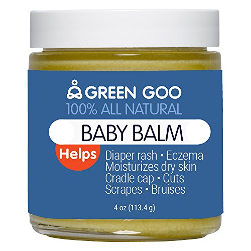 Green Goo All-Natural Skin Care, Baby Balm, Jar, 4 Ounce