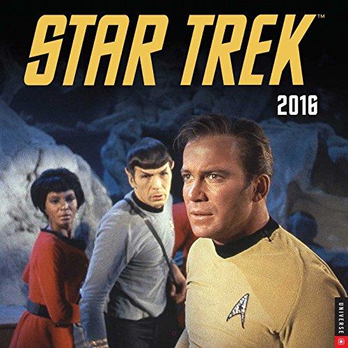 Star Trek 2016 Wall Calendar: The Original Series