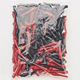UNICORN CHECKOUT SOFT TIPS RED BLACK MIXED PACK OF 200