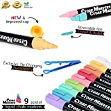 Cedar Markers Liquid Chalk Markers - 12 Pack With