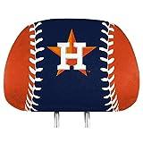ProMark Houston Astros Printed Full Color 2-Pack Head Rest Covers Elastic Auto Baseball