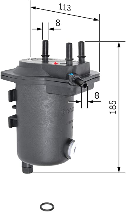 Bosch 0450907013 Kraftstofffilter Auto
