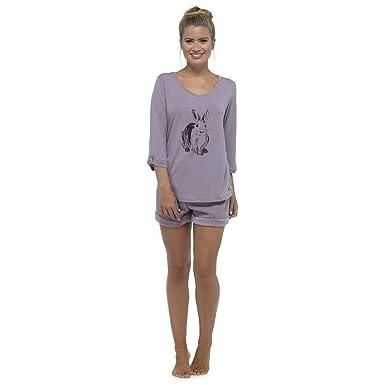 fc5df65ab5 Pyjamas for Women Girls Ladies PJ s Comfy Snuggle Warm Fleece Twosie Pajama  Set
