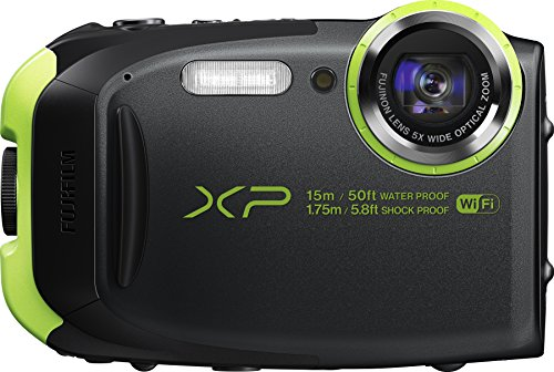 Fujifilm FinePix XP80 Waterproof Digital Camera with 2.7-Inch LCD (Graphite Black)