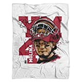 500 LEVEL's St. Louis Throw Blanket - Yadier Molina Fleece Blanket - Yadier Molina YM4 R
