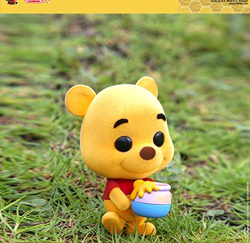 (Hot Toys HT Cosbaby Original Winnie The Pooh Bobble Head Miniature Collectible Figures Car Decoration Figurine Collection Gifts for Kids Or Girls)