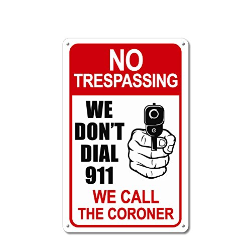 sign we dont dial 911 - 2