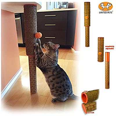 Cat Scratching Post Ultimate Adjustable Cat Scratching Post