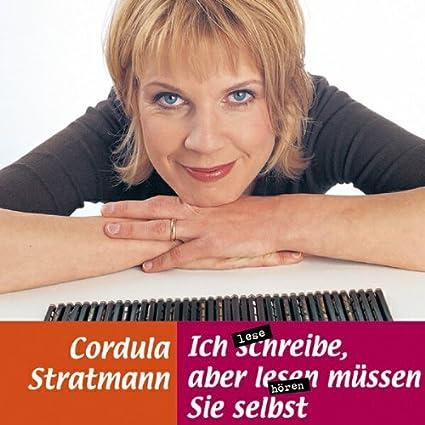 Ich schreibe, aber lesen müssen Sie selbst, 1 Audio-CD   von Cordula Stratmann, Annemie Hölchrath   Durchschnittliche Kundenbewertung:     Versandfertig bei Amazon in 24 Stunden.    Kurzbeschreibung   Höchste Zeit, dass sie damit anfängt. Denn für ihr Leben hat sie schon 39 Jahre gebraucht. Und sie ist noch nicht fertig. Dabei hat es sich am Anfang so gezogen. Mensch, die ersten Jahre dauern furchtbar lang, es geht einfach nicht voran, und dann, ab 29, geht das unheimlich fix
