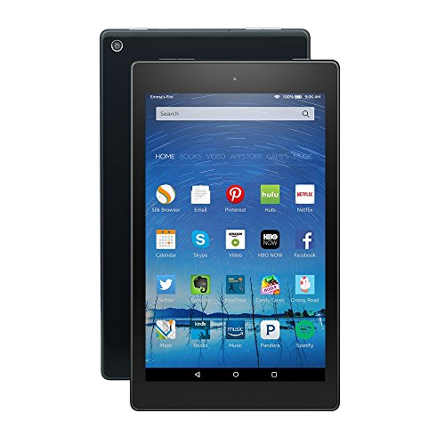 Certified Refurbished Fire HD 8 Tablet, 8″ HD Display, Wi-Fi, 8 GB – Includes Special Offers, Black (Previous Generation – 5th)