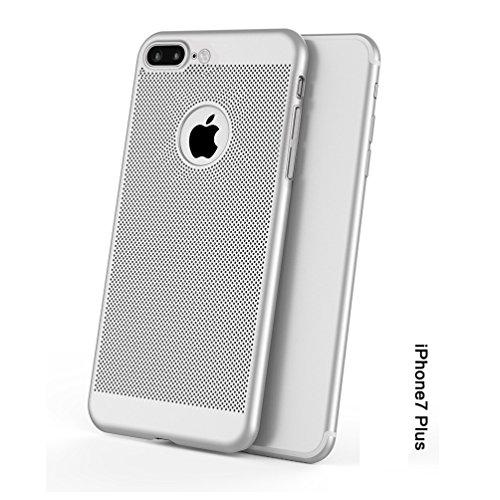 Funda iPhone 5/5S/SE,Alta Calidad Ultra Slim Anti-Rasguño y Resistente Huellas Dactilares Totalmente Protectora Caso de Plástico Duro Case,Cuadrícula Disipación de calor Antideslizante Cover(YQ1-4) E