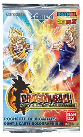 Bandai Dragon Ball Z Juego de cartas - Serie 4 Booster ...