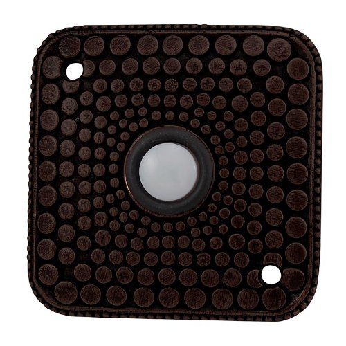 Vicenza Designs D4012 Italian Style Doorbell, Oil-Rubbed Bronze
