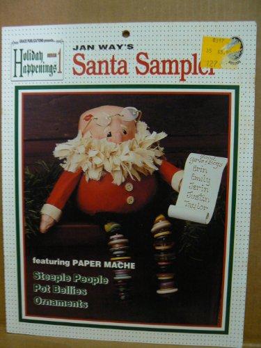 Santa Sampler (Santa Sampler (Holiday Happenings Series 1, 05206))