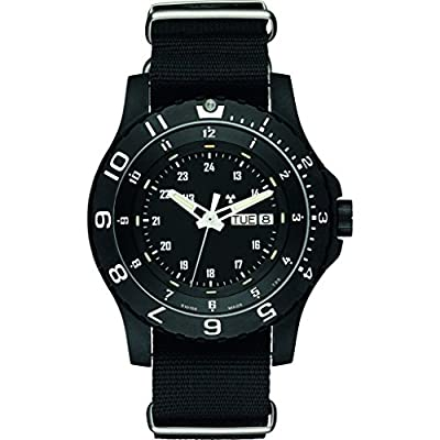 traser H3 Military P6600 Type 6 Mil-G Sapphire Watch | Nato Strap - Black by Traser