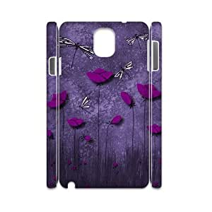 Beautiful Dragonfly Personalized 3D Cover Case for Samsung Galaxy Note 3 N9000,customized phone case ygtg-310301 Kimberly Kurzendoerfer