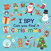 I Spy Christmas: A Fun I Spy Books For Kids Ages
