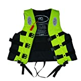 ANAM Leader Internation Life Vest with Whistle, Buoyancy Aid for Adult, Buoyancy Vest, Kayaking Foam Life Jacket Watersport