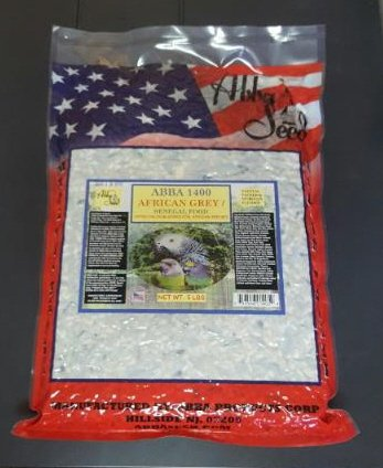 Picture of ABBA 1400 Bird Foods African Grey/ Senegal Food 5lbs