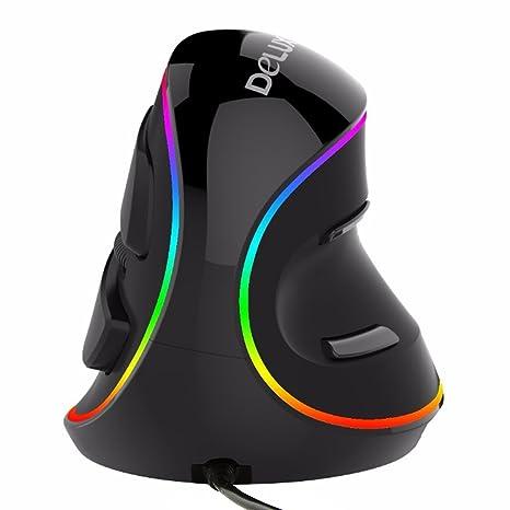 etercycle transparente silencioso Quiet ultrafino USB rueda colorido LED óptico Ratón Con Cable RatóN Para PC