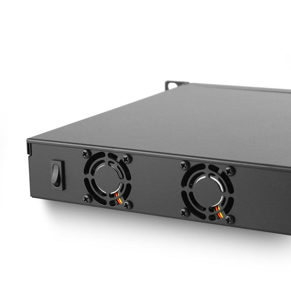 Jetway JBC153F592-Q170-B Intel Core Q170 Mini 1U Rackmount w// 8 x Intel LAN Port