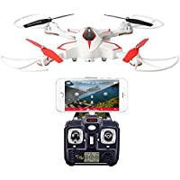 RC Drone, Syma X56W Drone WiFi FPV Drone with HD Camera and Live Video Altitude Hold RC Quadcopter White